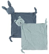 Liewood Comfort Blanket - Yoko - 2-pack - Blue Mix