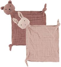 Liewood Comfort Blanket - Yoko - 2-pack - Rose Mix