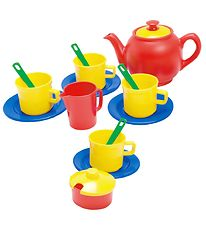 Dantoy Tea Set - My Little Kitchen - 17 pcs