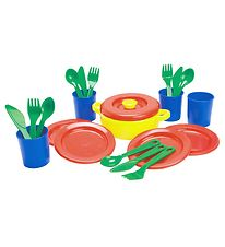 Dantoy Dinner Set - My Little Kitchen - 22 pcs