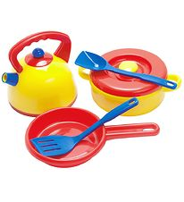 Dantoy Pot and Kettle - My Little Kitchen - 7 pcs