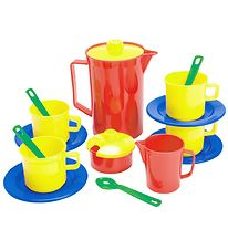 Dantoy Coffee Set - My Little Kitchen - 17 pcs