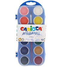 Carioca Watercolour Paint - 12 Colours