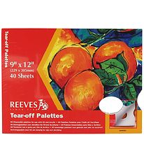 Reeves Tear-off Palettes - 23 x 30,5 cm - 40 Sheets