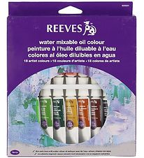 Reeves Oil Colour - Water Mixable - 18 pcs