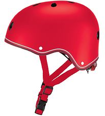 Globber Helmet - Primo Lights - Red