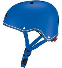 Globber Helmet - Primo Lights - Blue