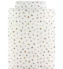 Leander Duvet Cover - Junior - Forest - Cappucino