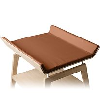 Leander Changing Pad Cover - Linea - Ginger