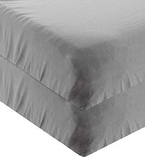Leander Bed Sheet - 60x140 - 2-pack - Cool Grey