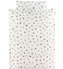 Leander Duvet Cover - Baby - Forest - Dusty Rose