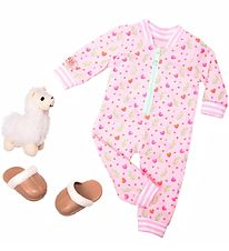Our Generation Doll Clothes - Pajamas w. Lama