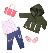 Our Generation Doll Clothes - Deluxe Green Jacket