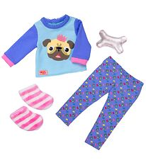 Our Generation Doll Clothes - Pajamas w. Bulldog