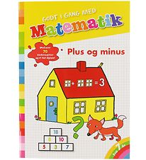 Forlaget Bolden Activity Book - Godt I Gang Med Matematik - Plus