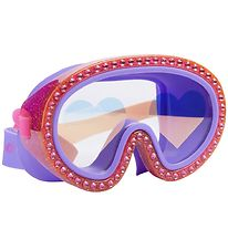 Bling2o Diving Mask - Glitter Heart Raspberry