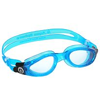 Aqua Sphere Swim Goggles - Kaiman Adult - Clear Blue