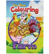 Colouring Book - Fun Time Colouring Farm - 16 Pages