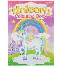 Colouring Book - Unicorn Colouring Book - 16 Pages