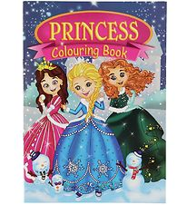 Colouring Book - Princess Colouring Book - 16 Pages
