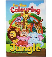 Colouring Book - Fun Time Colouring Jungle - 16 Pages