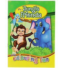 Colouring Book - My Jungle Friends Colouring Book - 16 Pages