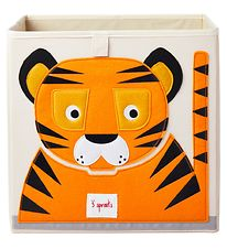 3 Sprouts Storage Box - 33x33x33 - Tiger