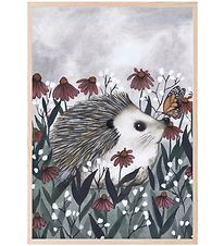 Thats Mine Poster - 21x30 - Nosy Hedgehog