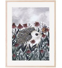 Thats Mine Poster - 30x40 - Nosy Hedgehog