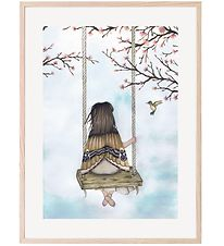 Thats Mine Poster - 30x40 - Wondering Fairy Girl