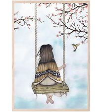 Thats Mine Poster - 21x30 - Wondering Fairy Girl