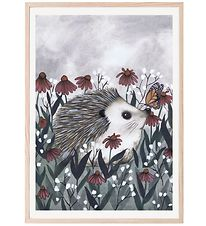 Thats Mine Poster - 50x70 cm - Nosy Hedgehog