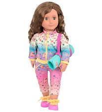 Our Generation Doll - 46 cm - Heloisa Lolo w. Yoga Mat