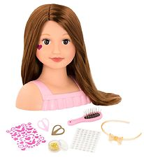 Our Generation Hairdresser Doll w. Accessories - Talia