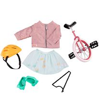 Our Generation Dolls Clothes - Deluxe One Wheel Bike