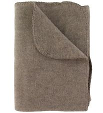 Engel Blanket - Wool - 80x110 - Walnut Melange