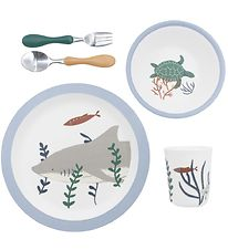 Sebra Dinner Set - 5 parts - Melamine - Seven Seas