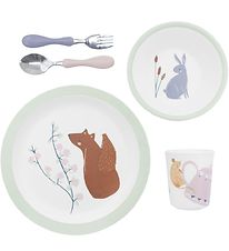 Sebra Dinner Set - 5 parts - Melamine - Daydream