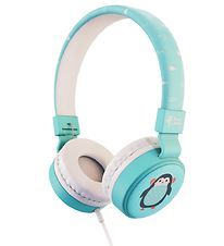 Planet Buddies Headphones - Penguin - Blue
