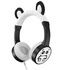 Planet Buddies Headphones - Panda - Black