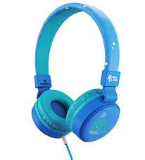 Planet Buddies Headphones - Whale - Blue