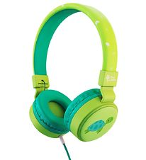 Planet Buddies Headphones - Turtle - Green