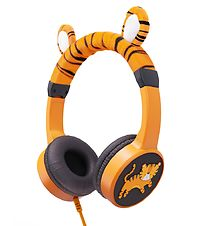 Planet Buddies Headphones - Tiger - Orange