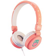 Planet Buddies Headphones - Owl - Pink