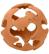 Tiny Tot Teether Ball - Silicone - Ocher