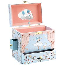 Djeco Jewelry Box w. Music - Ballerina On Stage