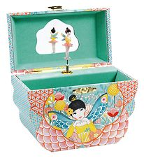 Djeco Jewelry Box w. Music - Flowery Melody