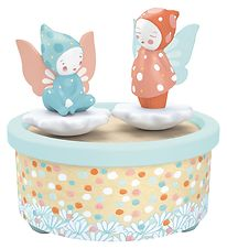 Djeco Melody Box - 12 cm - Wood - Fairy