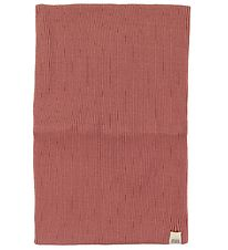 Minimalisma Tube Scarf - Birk - Silk/Cotton - Antique Red