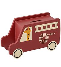 Bloomingville Money Box - Red